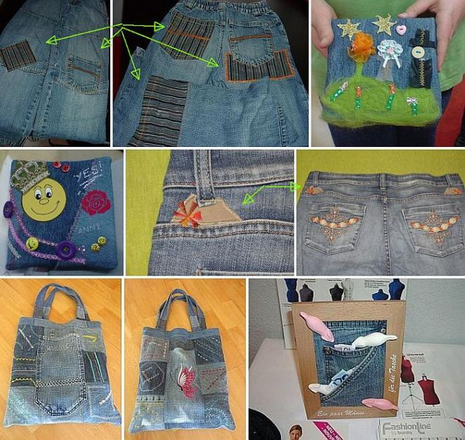 Jeans nähen flicken