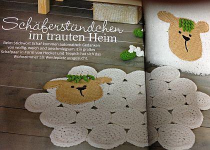 Anna Anleitung Handarbeit Schafe