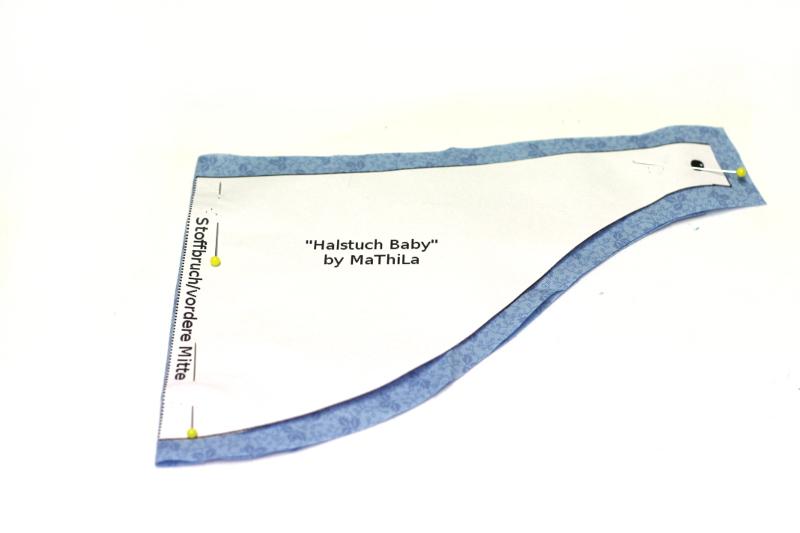 Zuschnitt Halstuch