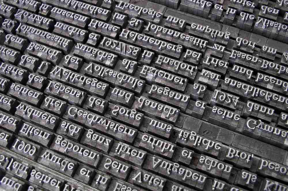 Nähvokabeln Übersetzung Buchstaben Sprachen