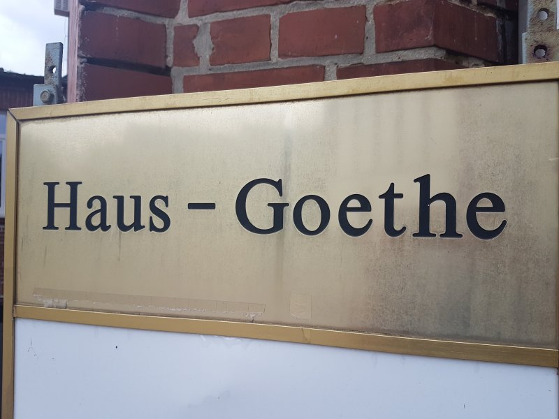 Hausgoethe Haus Goethe