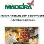 Madeira Anleitung Weihnachten