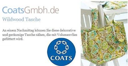 Coats Nähanleitung Tasche