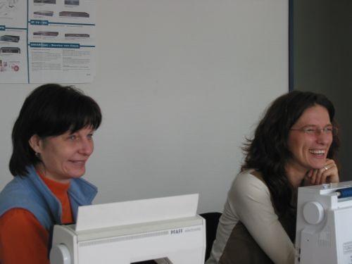 honähkräh Irene und Marica