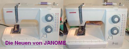 neue Nähmaschinen Janome