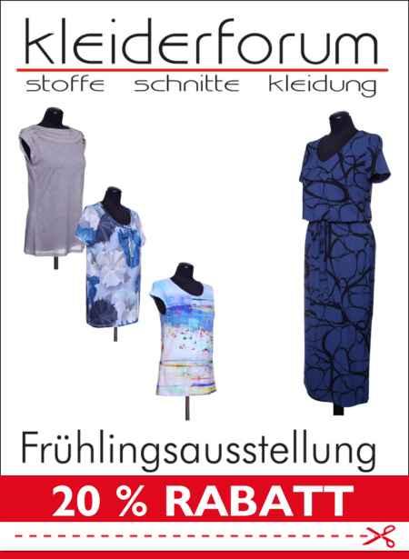 Schnittquelle Frühliingsausstellung Schnittmuster