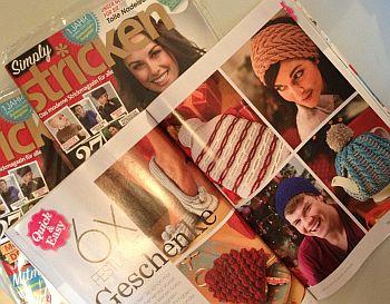 Zeitschrift Simply Stricken Geschenke