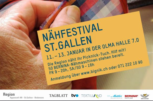Bernina Bignik Nähfestival St. Gallen