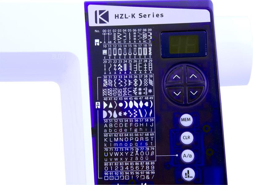 JUKI HZL K85 Bedienelement