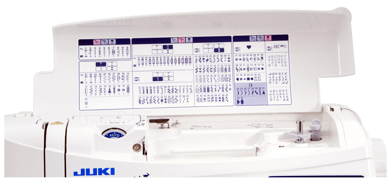 JUKI HZL-F400 Stichauswahl