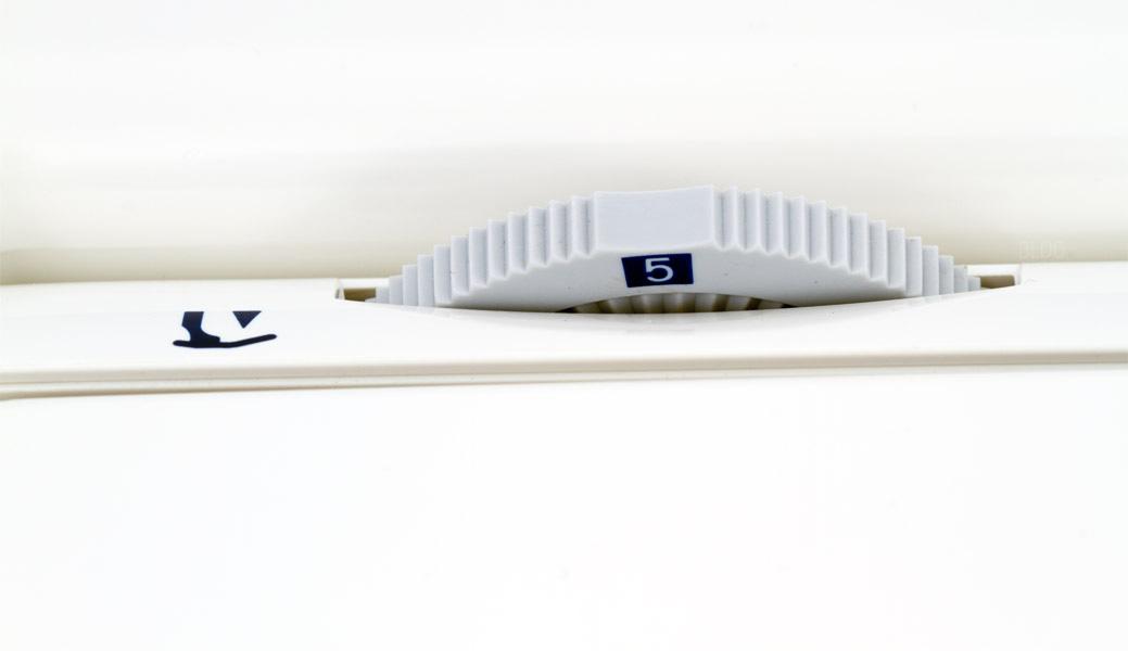 JUKI HZL-DX7 einstellbarer Nähfüßchendruck