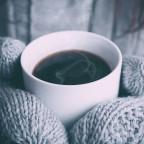 Winter Handschuhe Kaffee