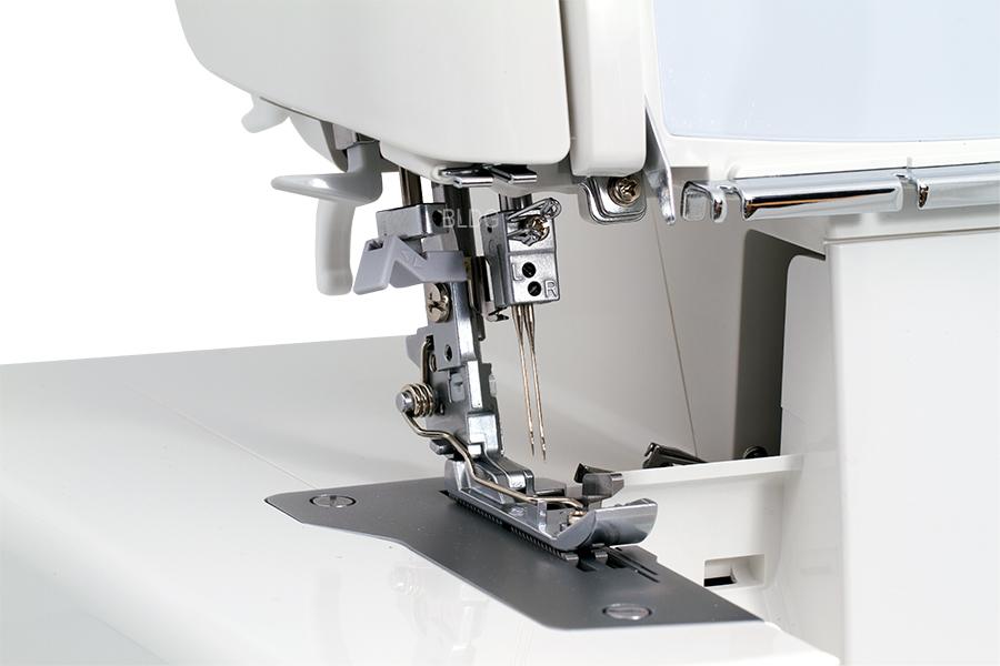 JUKI MO-1000 Abstand Gehäuse zu Stichplatte