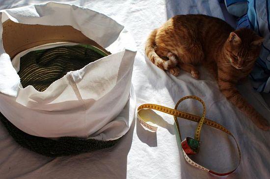 Anleitung Katzenkorb