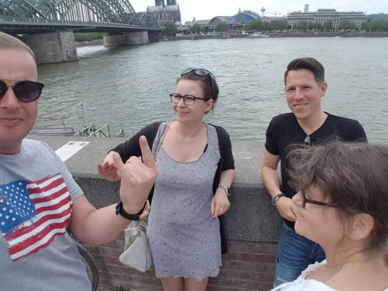 Köln Brücke Rhein