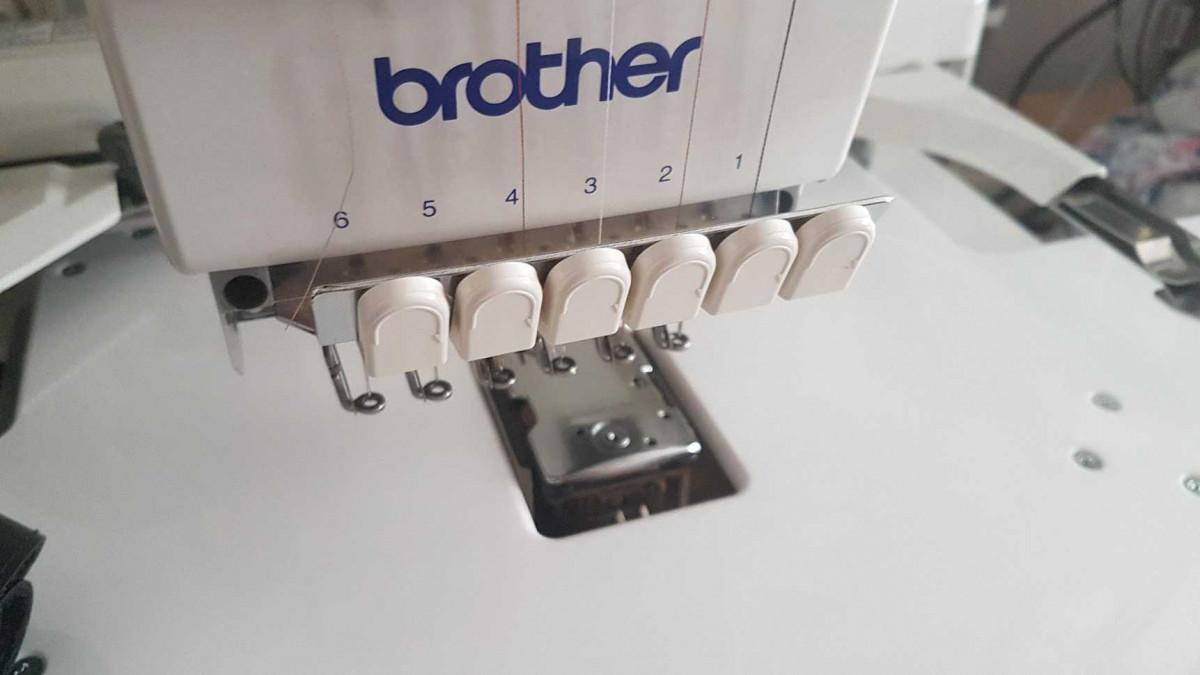 brother PR-600 Stickarm, unten Greiferabdeckung/Greifer