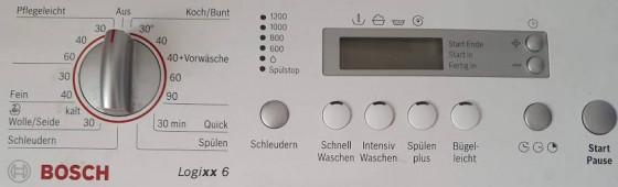 Waschmaschine Bosch Logixx