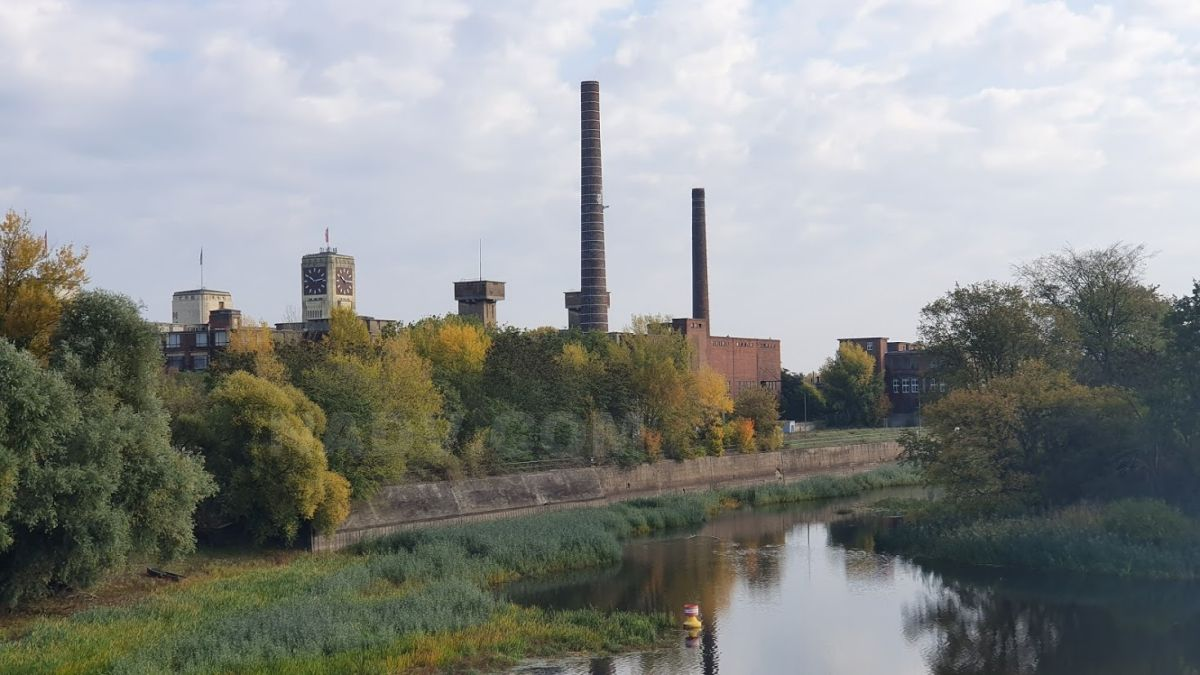Veritas-Werk in Wittenberge an der Elbe
