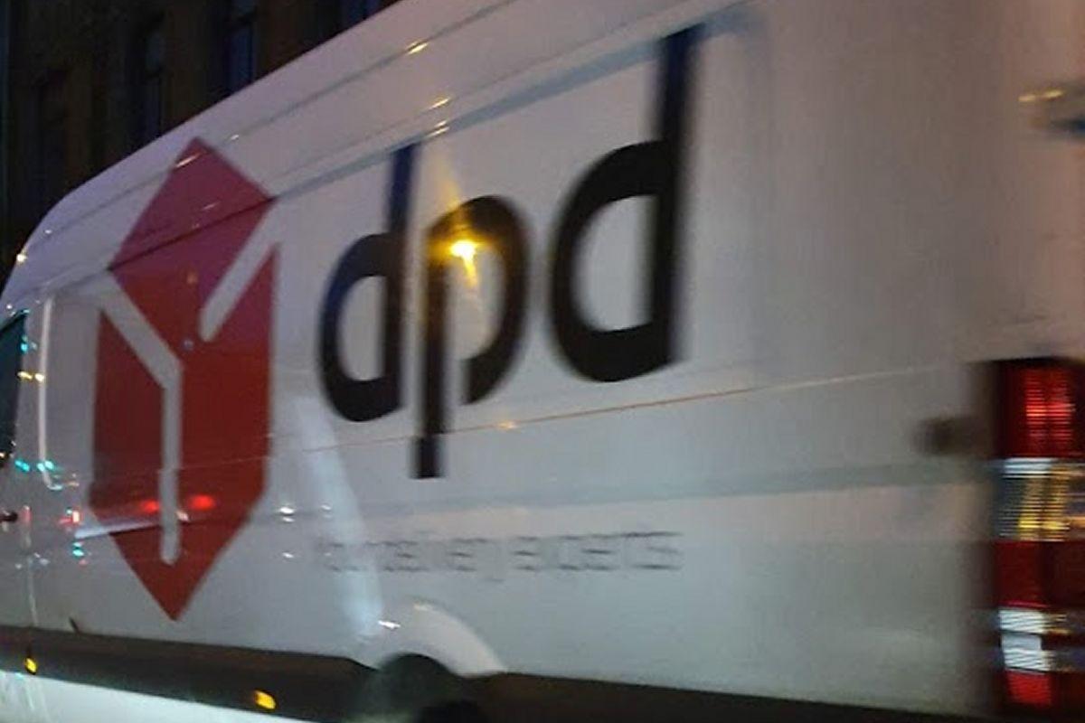 DPD parkt des Nachts auch mal...