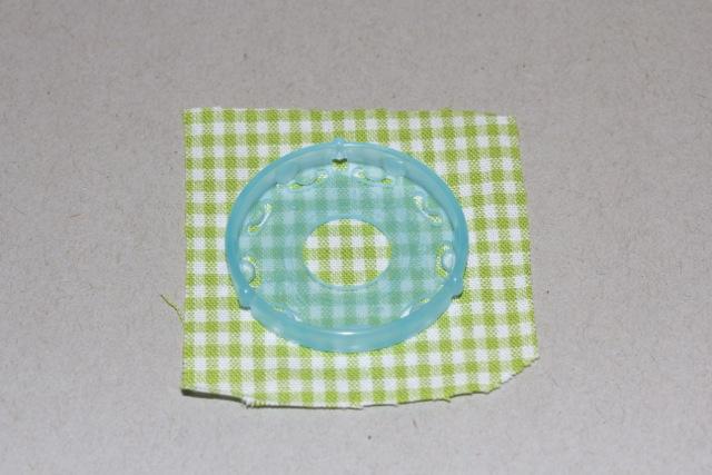 Clover Schablone Stoff zuschneiden