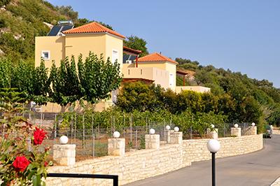 Villen auf Kreta