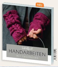 Buch Landlust Handarbeiten mit Tweedgarn