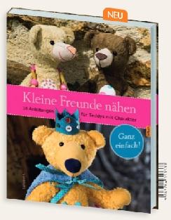 Buch Kleine Freunde Nähen Anleitung Teddy