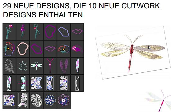 Pfaff Creative Sensation pro Muster