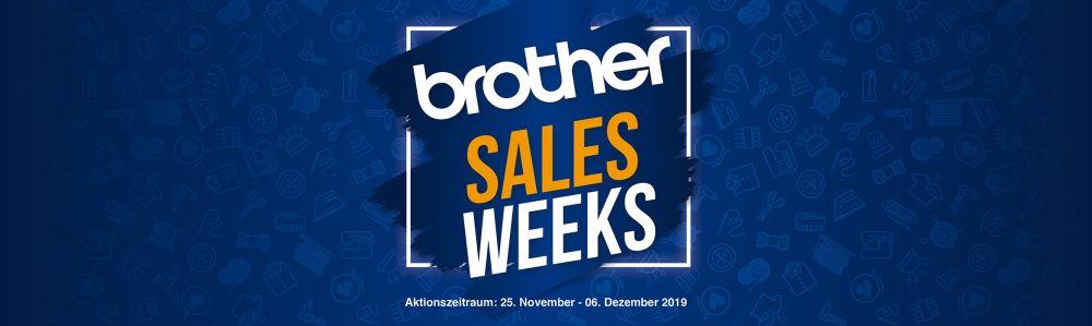 Brother Sales Weeks © brothersewing.eu - Zur Verfügung gestellt.