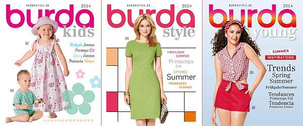 burda-Kataloge 2014