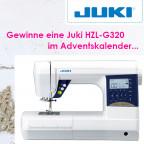 Adventskalender Gewinn Nähmaschine Juki