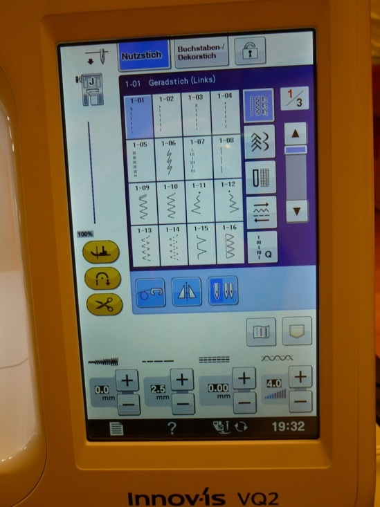brother Innov-is VQ2 Touchscreen