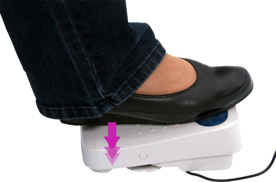 JUKI HLZ-DX3 Fußpedal mit verschiedenen Möglichkeiten