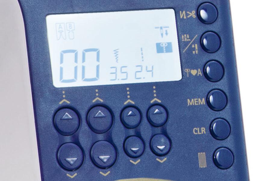 JUKI HZL-G320 Display