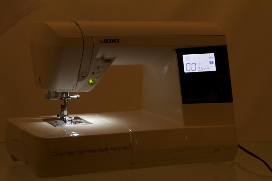 JUKI HZL-G320 Startknopf beleuchtet
