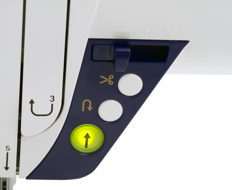 JUKI HZL-G220 Startknopf
