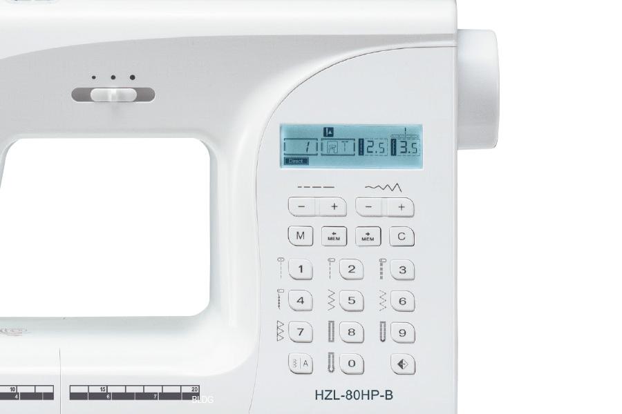 JUKI HZL-80HP-B Bedienung