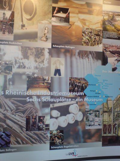 Rheinische Industriemuseen - Werbeplakat