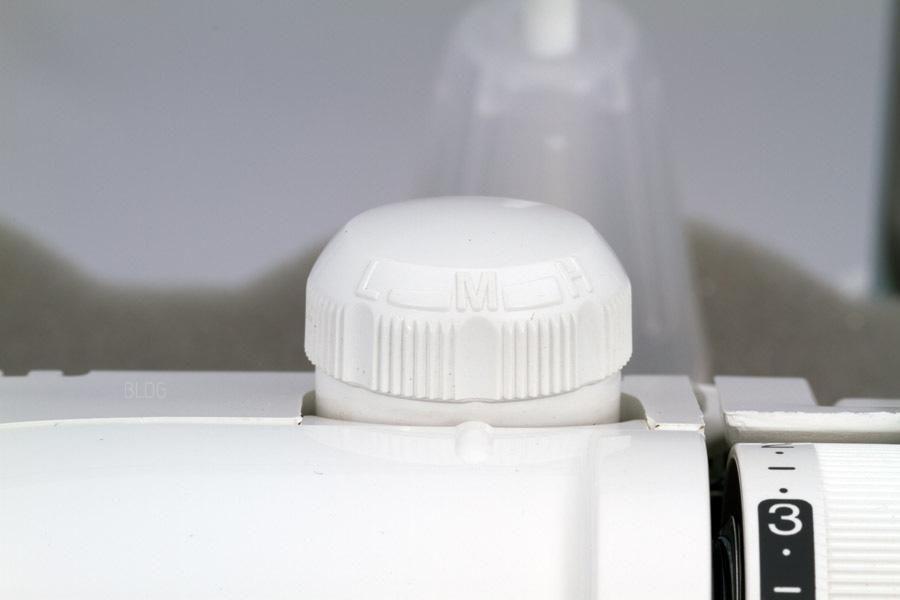 JUKI MO-735 Nähfußdruck einstellen