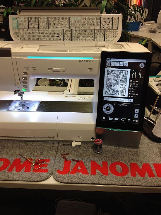Janome Memory Craft Horizon 15000 vorgestellt