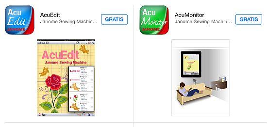 Janome Apps Horizon 15000