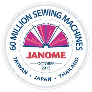 60 Millionen Nähmaschinen Janome