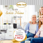 baby lock enlighten Angebot Muttertag