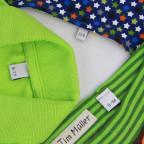 Größenetiketten für Kinderkleidung