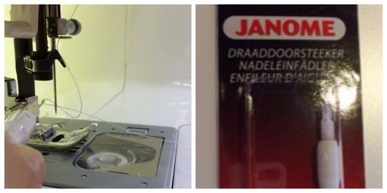 Nadeleinfädler Einfädelhilfe Nähmaschine Janome