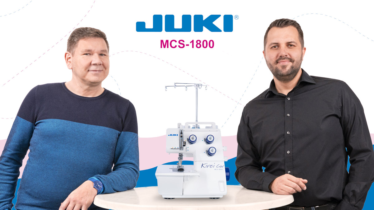 JUKI MCS-1800 Coverstich