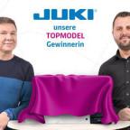 JUKI Nähmschinen Gewinnspiel Topmodel