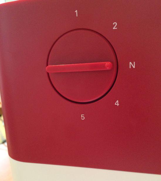 Pfaff Creative 1.5 rot Fussdruck
