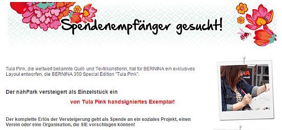 Bernina 350 Special Edition Tula Pink