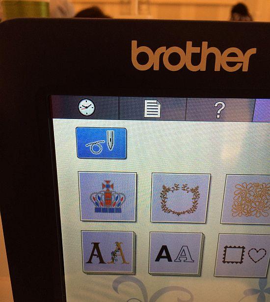 brother VR Menü